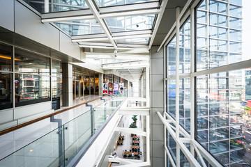 Corridor in the CentralWorld Mall, in Bangkok, Thailand.