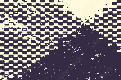 Grunge Camera Vector : Abstract grunge vector background. monochrome raster composition of