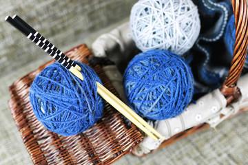 knitting wool ball hobby
