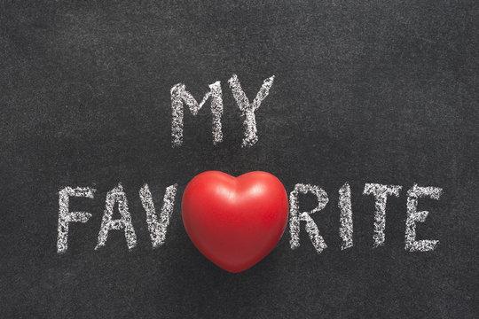 my favorite heart