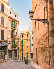 Wall Mural - Spanien Mallorca Palma Altstadt Gasse