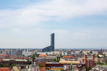 skytower Wroclaw, View of Wroclaw, Poland