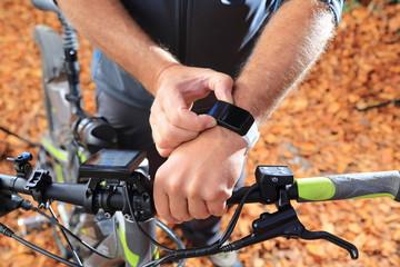 Fahrradcomputer Pulsmesser E-Bike Smatwatch