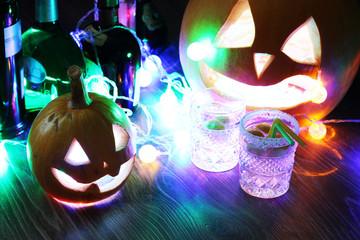 glass of ice Halloween