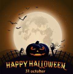 страшная ночь хэллоуин