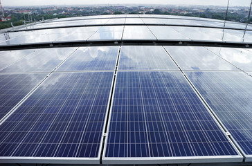 Solar PV Rooftop Cloud Reflect