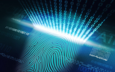 the system of fingerprint scanning - biometric security devices