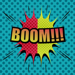 Boom comic cartoon