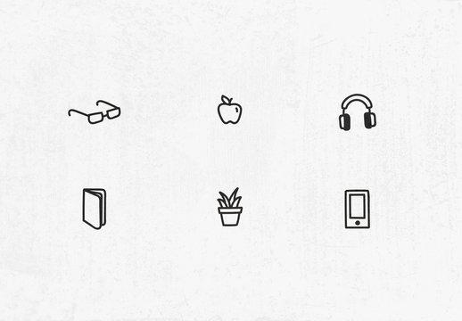 Hand-drawn Icon Set