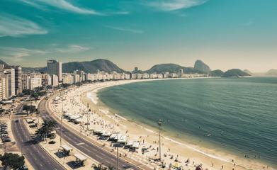 Copacabana Beach and Sugar Loaf Mountain in Rio de Janeiro