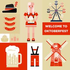 beer festival - oktoberfest.