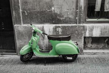 Roller Fahrzeug Alt Retro Vintage
