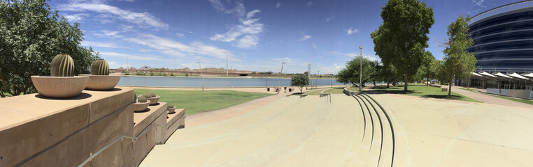 Salt Lake River Embankment, Tempe, AZ