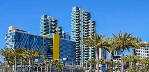 Modern Architecture on the Bay in Downtown San Diego