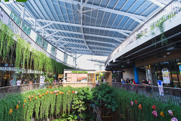 CentralFestival East Ville Shopping centers Open-Air. The largest in Southeast Asia . The opening on Nov 27, 2015. Inspired by the East Village on the island of Manhattan, New York.