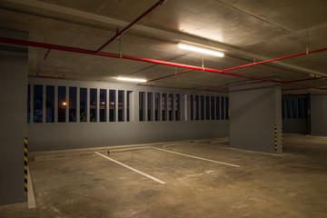 Car parking garage in building