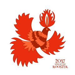 colorful stylized rooster