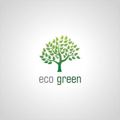 green tree ecology logo