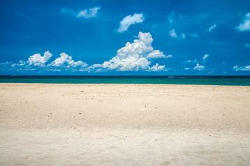 Sea beach blue sky summer holiday