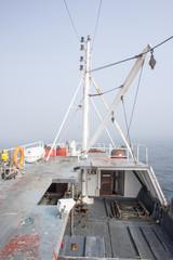 Front of Fishing Trawler
