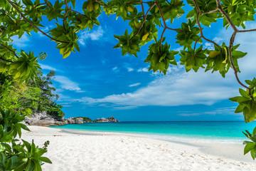 Beautiful tropical island beach, Thailand