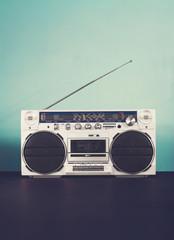 Ghettoblaster, radio cassette player