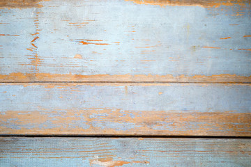 Old blue wooden background