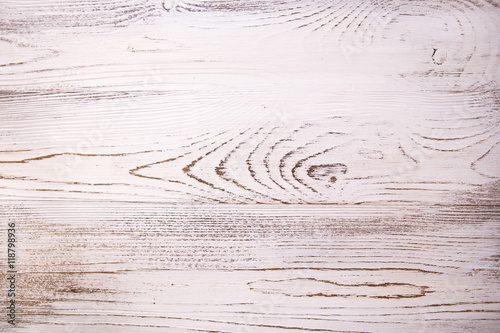Vintage White Wood Texture With Natural Patterns Background