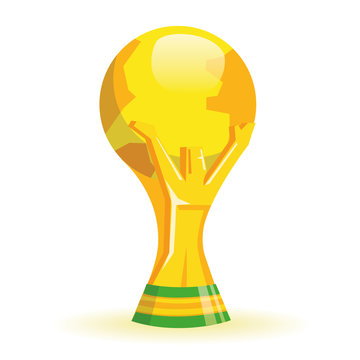 Gold Soccer Cup Trophy