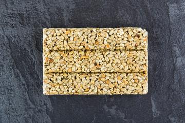 Pressed sunflower seeds
