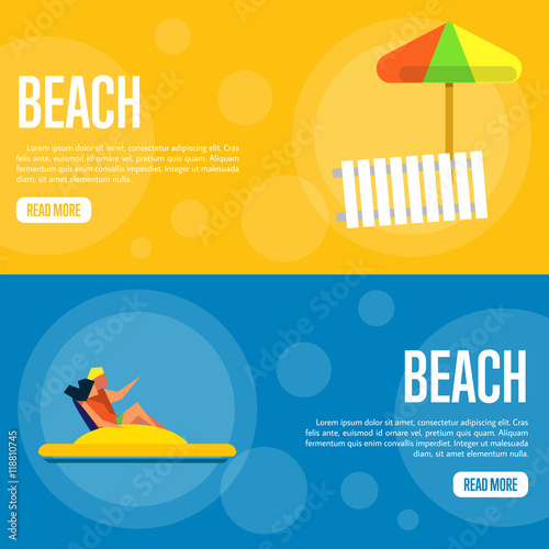 """Sutes That Are Yellow: """"Beach Vector Illustration. Couple On Yellow Water Bike On"""