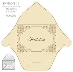 Envelope C6 template