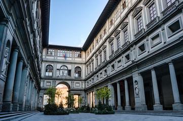 Art museum Galleria degli Uffizi in Florence