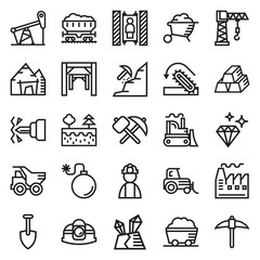 Mining Icon collection for web, app