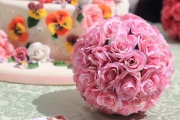 ornamento floreale per matrimonio
