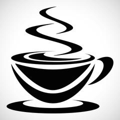Icon Pictogram black coffee