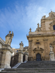 San Pietro cathedral, Modica, Province of Ragusa, Sicily, southern Italy