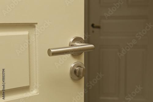 Poign E De Porte Int Rieur Maison Stockfotos Und