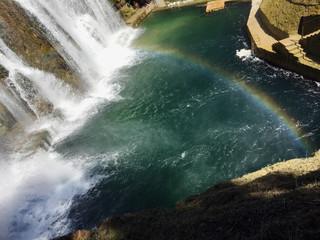 Waterfall in the Jajce,Bosnia and Herzegovina
