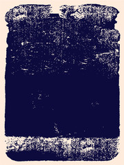 Abstract grunge vector background. Monochrome handmade composition of irregular graphic elements.