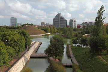 City park. Kabesera, Valencia, Spain