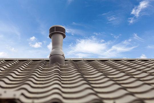 A roof ventilator for heat control