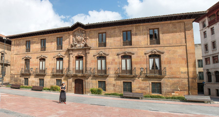 Oviedo Palacio de Valdecarzana-Heredia de Plaza de Alfonso II el Casto Spanien Nordspanien Asturien (Asturias)
