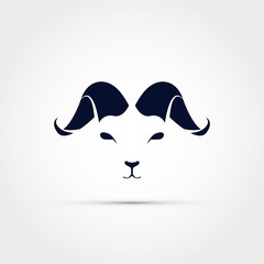 Ram head icon