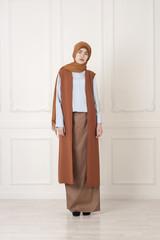 beautiful, Islamic woman in the modern Muslim clothes