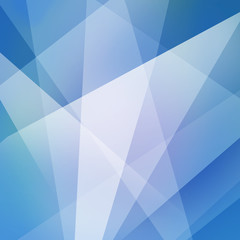 blue business background or abstract design with white angled lines and triangle shapes in geometric pattern