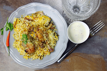 Spicy Chicken Biryani