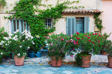 alley in an old Provencal village