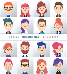 Business people character design