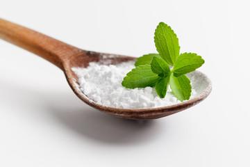 Stevia leaves and powder